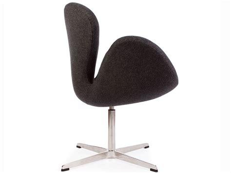 arne jacobsen sedie sedia swan arne jacobsen grigio