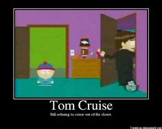 Tom Cruise In The Closet by South Park On South Park And Undertaker