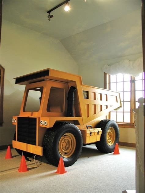 dump truck toddler bed dump truck project bed for liam liam pinterest