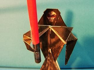 How To Make Origami Emperor Palpatine - origami wars emperor palpatine