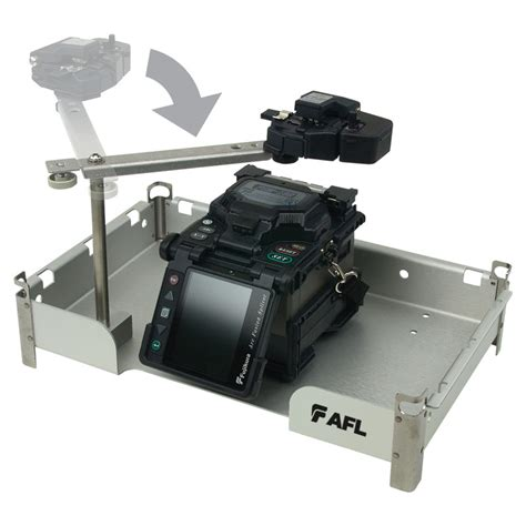fiber optic splicing table portable fusion splicing workstation supporting splicer