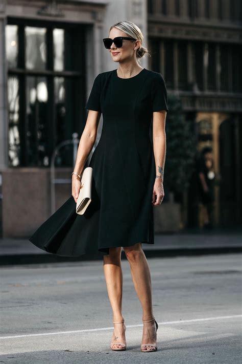 black dress    fall fashion jackson