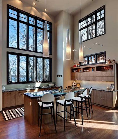 Modern Ceiling Design For Kitchen Modern High Ceiling Kitchen Design Ideas