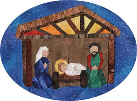 quilt pattern nativity scene free nativity scene christmas ornament foundation paper