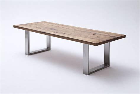 Gestell In Einem Laden by Esstisch Aus Massiv Eiche Tisch Mit Einem Gestell Aus