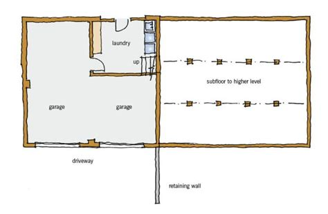 split level floor plans 1970 1970s typical building form branz renovate