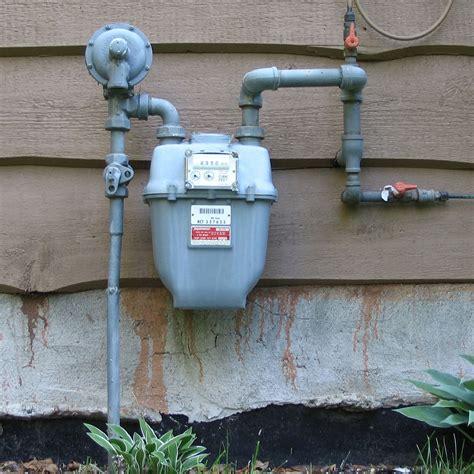 in a meter gas meter