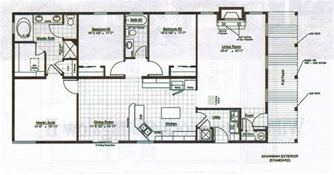 Floor Plan For Homes by Bungalows Floor Plans Home Plans Home Design