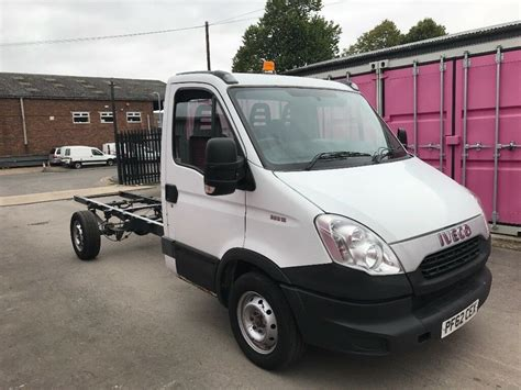 iveco daily  lwb chassis cab reg  sale