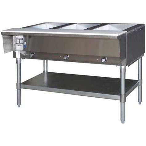 Ng Table by Eagle Ht3 Ng 3 Well Gas Food Table