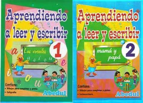 libro aprendiendo a leer y escribir aprendiendo a leer y escribir pdf aula virtual primaria