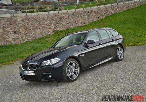 bmw sport 2014 bmw 520d touring m sport review video