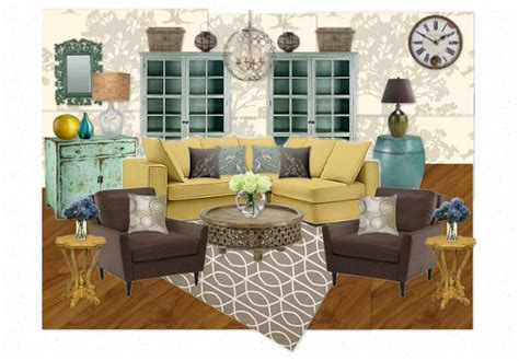 mustard living room mustard teal living room by krystalstudio olioboard