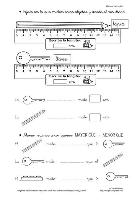 medidas de longitud para primer grado material de aprendizaje apoyo escolar ing maschwitzt contacto telef 011 15