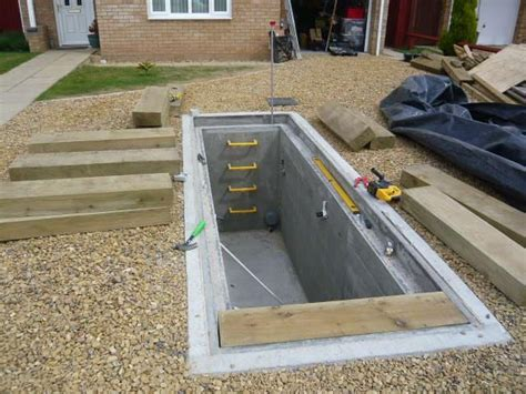 diy pit construction vehicle inspection pit architecture decorating