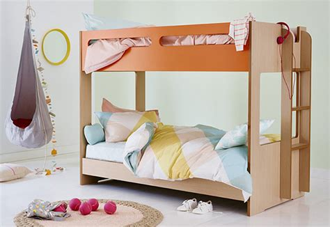 snooze bunk beds mini me compact bunk bed the low bunk that s just right