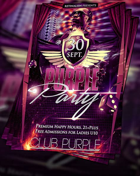 top 15 party flyers design templates psdreview