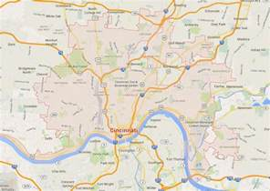 Cincinnati Ohio Map by Cincinnati Ohio On State Map Pictures To Pin On Pinterest