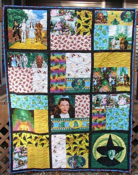 Wizard Of Oz Quilt Pattern by 2070 Best In Oz Images On