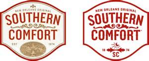 southern comfort rebrand cue a brand design company