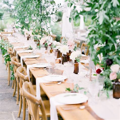 wedding table decorations we re currently coveting mydomaine