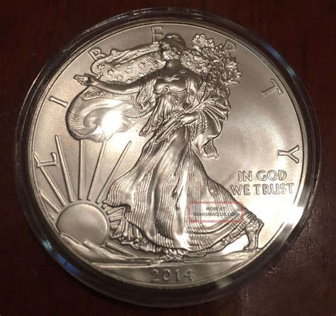 1 oz liberty eagle silver 999 2014 usa 1 oz silver dollar 999 liberty eagle