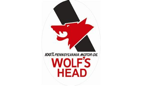 Wolf's Head Oil Vintage Sign by SignPast   Free Shipping