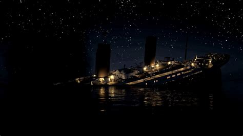 titanic boat sinking scene sinking level sle titanic honor and glory youtube