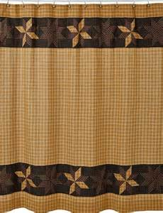 Country Bath Shower Curtain vhc country and primitive shower curtains