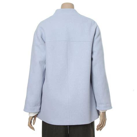 Single Button Coat galleria collarless single button coat kstylick