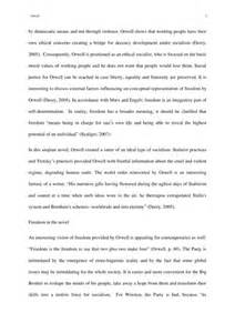 1984 Essay On Freedom freedom and human rights in orwell s 1984 essay exle topics and sles