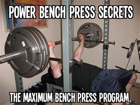 bench strength program increase bench press workout bench press program for