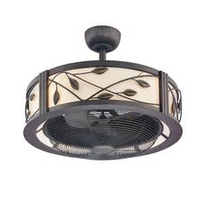 Allen Roth Ceiling Fans With Lights Lowes Allen Roth 23 Inch Leaf Light Aged Bronze Ceiling Fan Fans Lighting Furniture