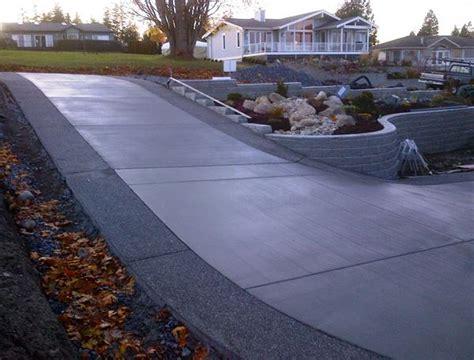 concrete driveway layout design superb decorative driveways 5 concrete driveway designs