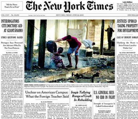 new york times front page newspaper 12 best images of new york times newspaper today new