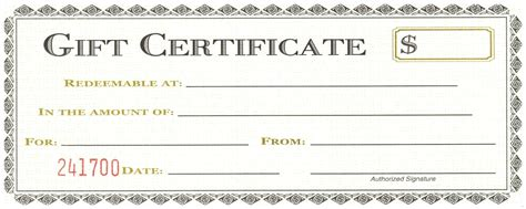 free birthday gift certificate template