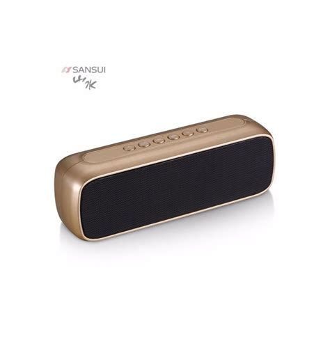 Speaker Bluetooth Sansui sansui t16 bluetooth speaker with battery 1500mah free shipping