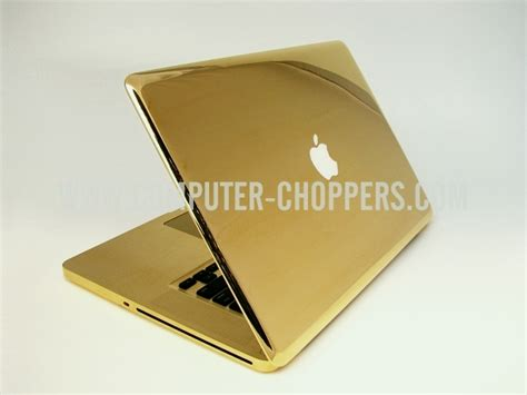 Laptop Apple Warna Gold a souped up apple macbook especially for the in you