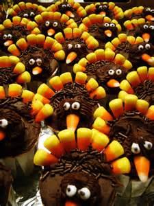 12 adorable turkey cupcakes for thanksgiving babble