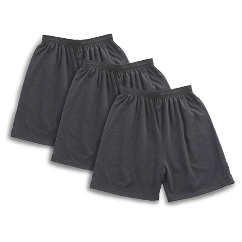 jersey knit shorts 6 pk mj soffe 174 jersey knit shorts 185025 shorts at