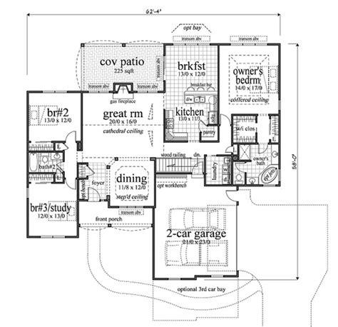 craftsman home plans 2000 square craftsman style house plan 3 beds 2 baths 2000 sq ft plan 459 2