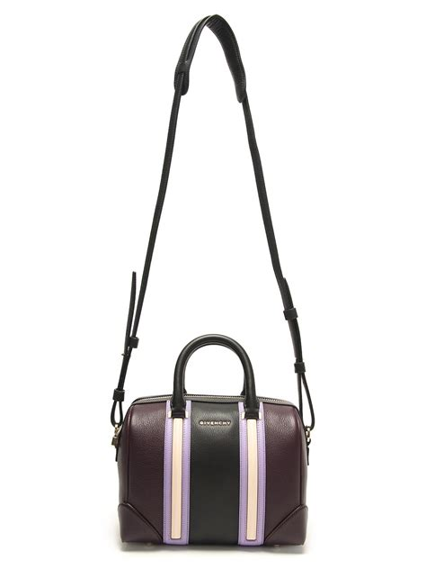 Givenchy Deauville lyst givenchy mini lucrezia bag in purple