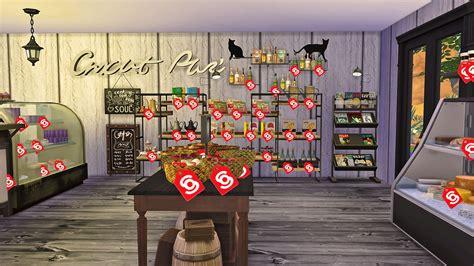 Zaza Set 6w sims4 deli grocery store 小吃雜貨鋪 ruby s home design