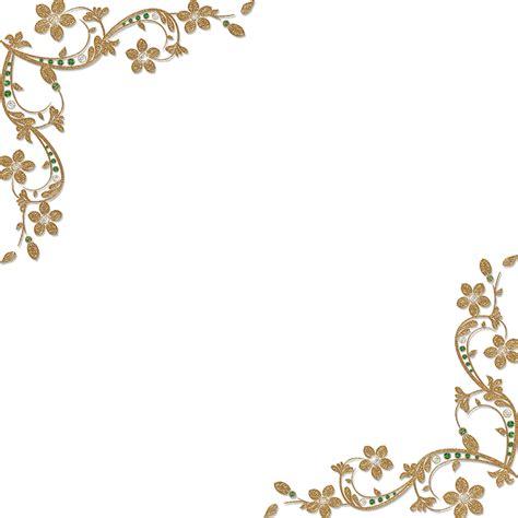 Corner Photo Frames golden floral corners frame 1 by paw prints designs on