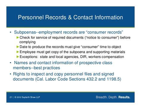 california labor code section 1198 5 darren chaker privacy law