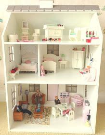 pottery barn doll house hello kitty play house jordyn would love this jordyn pinterest play houses