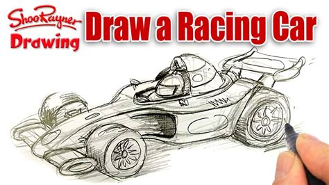 how to draw paint cars books how to draw a formula one race car spoken tutorial