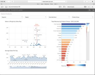 risk dashboard demo business intelligence for finance qlik sense