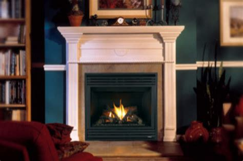 Lennox Gas Fireplace by Merit Series Lennox Gas Burning Fireplace