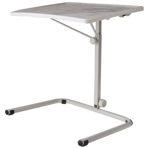 over bed tv table hospital over bed overbed table laptop food tv tray ebay